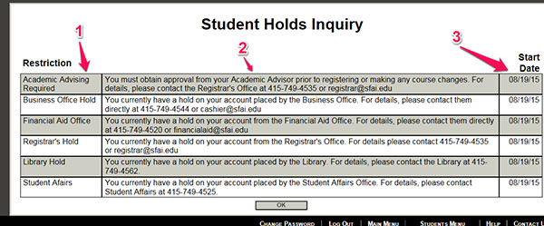 Student Holds Inquiry